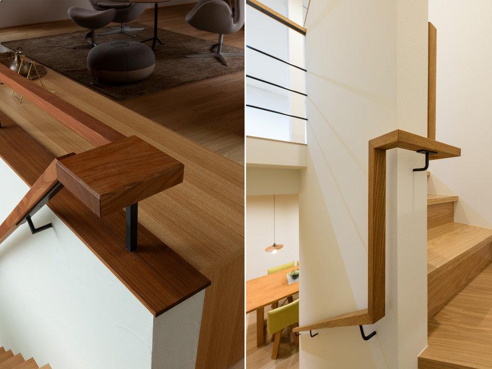 階段手摺のデザイン