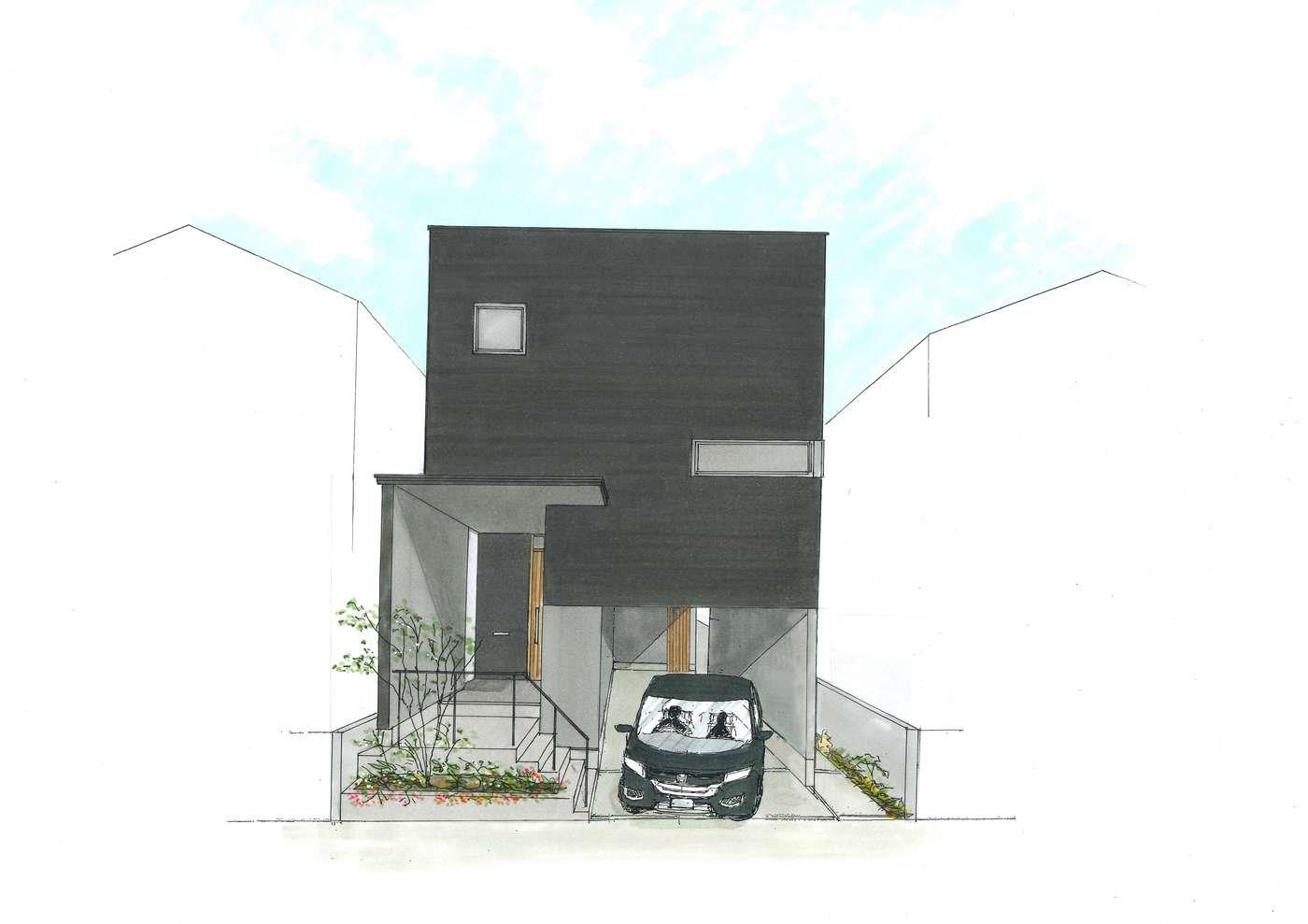 【建設中】大谷口の家